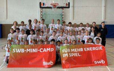 Basketball nonstop beim swb-Mini-Camp